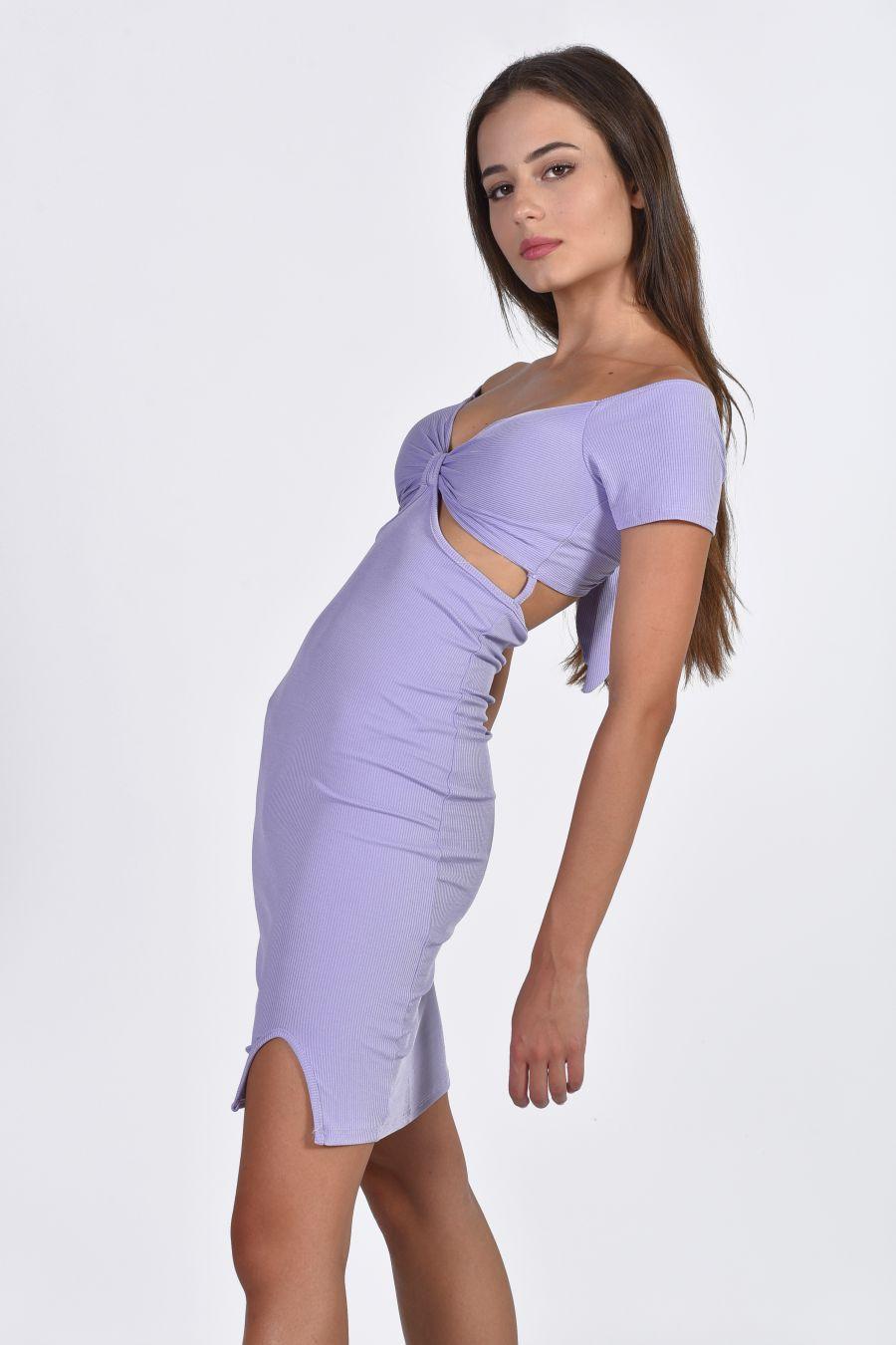 Knot mini dress
