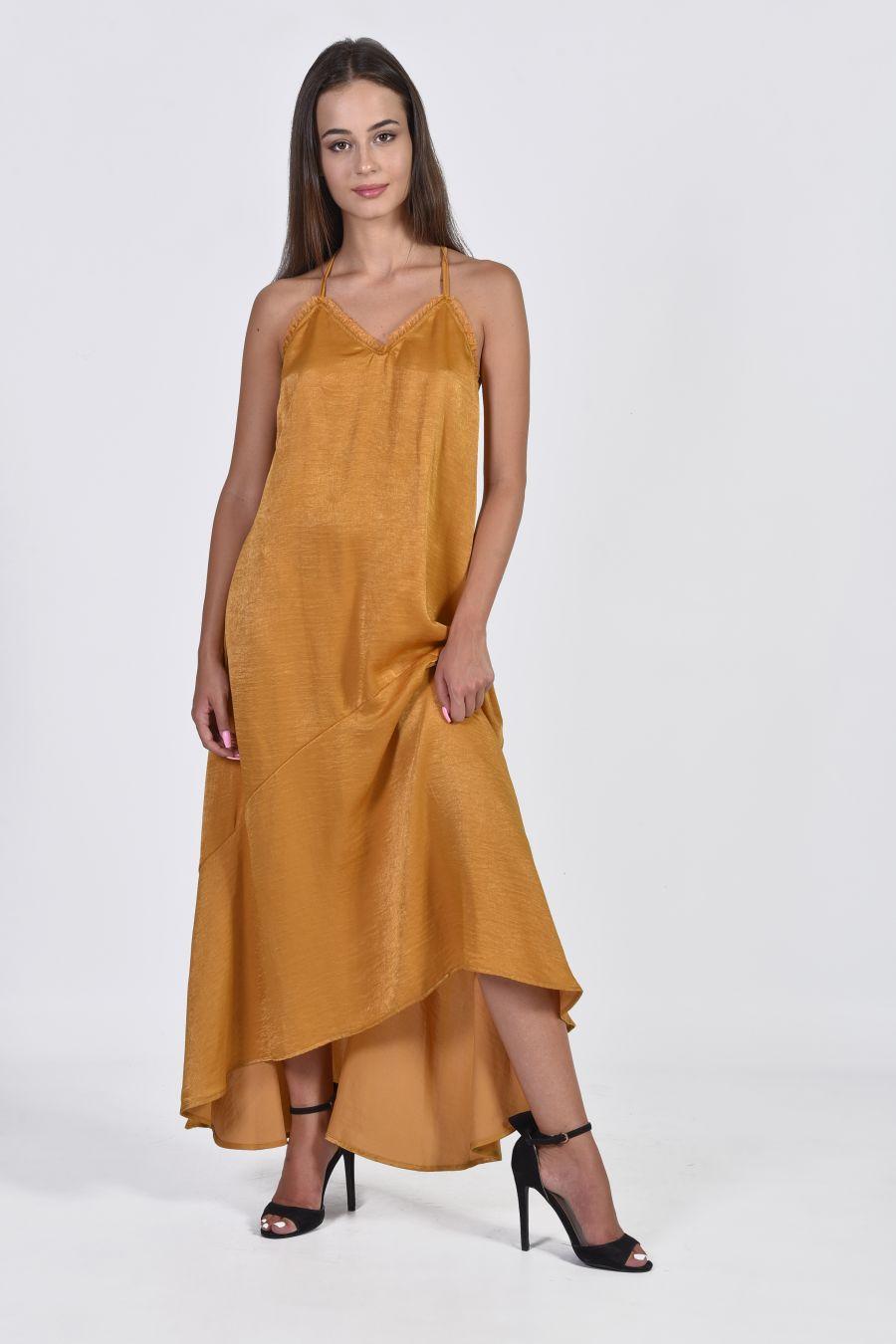 Lingerie maxi φόρεμα