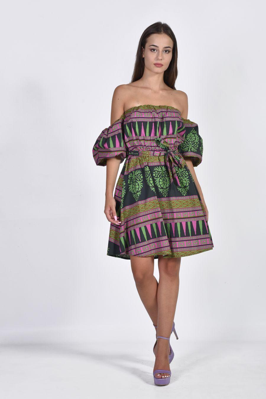 Azdec φόρεμα με ακάλυπτους ώμους