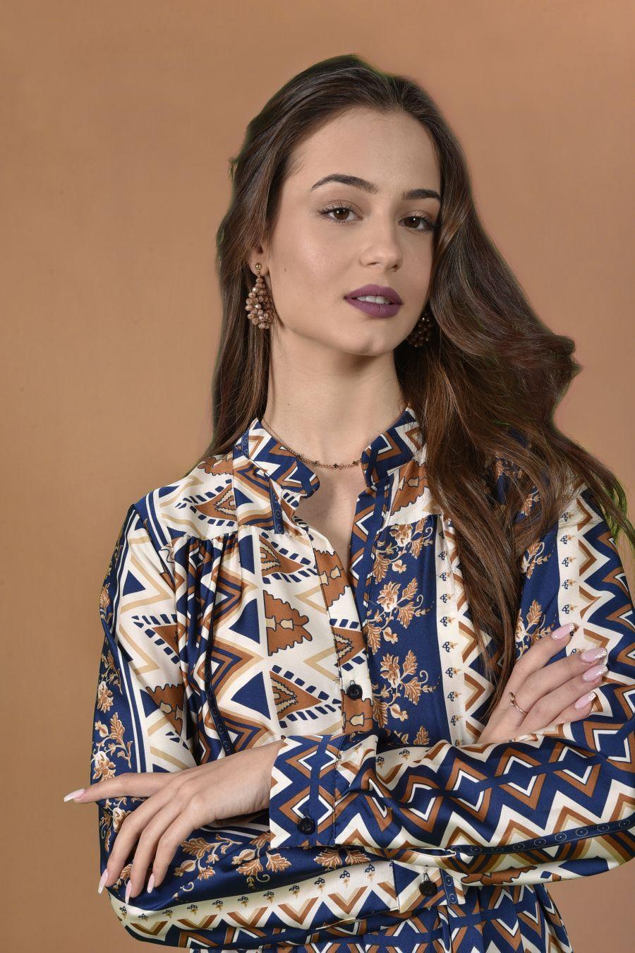 Maxi ethnic dress
