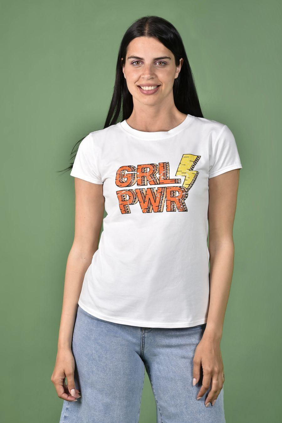 GRL POWER T-shirt